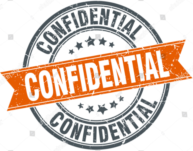 Image result for Confidentiality Guaranteed