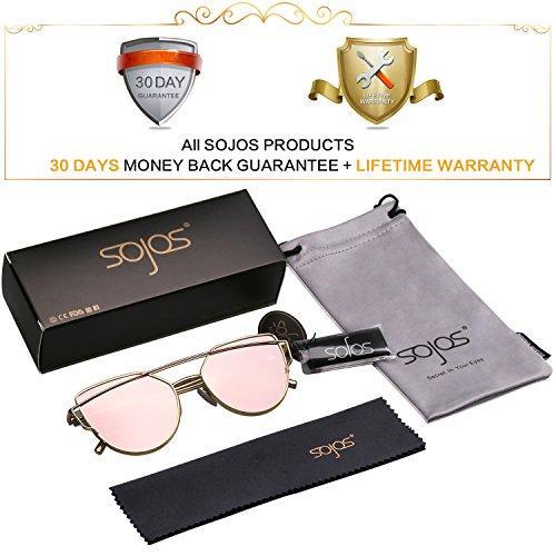 5f2dab3914d Original Brand New SojoS Fashion100%UV Protection Cat Eye Sunglasses  Pink .  Premium Seller. 1