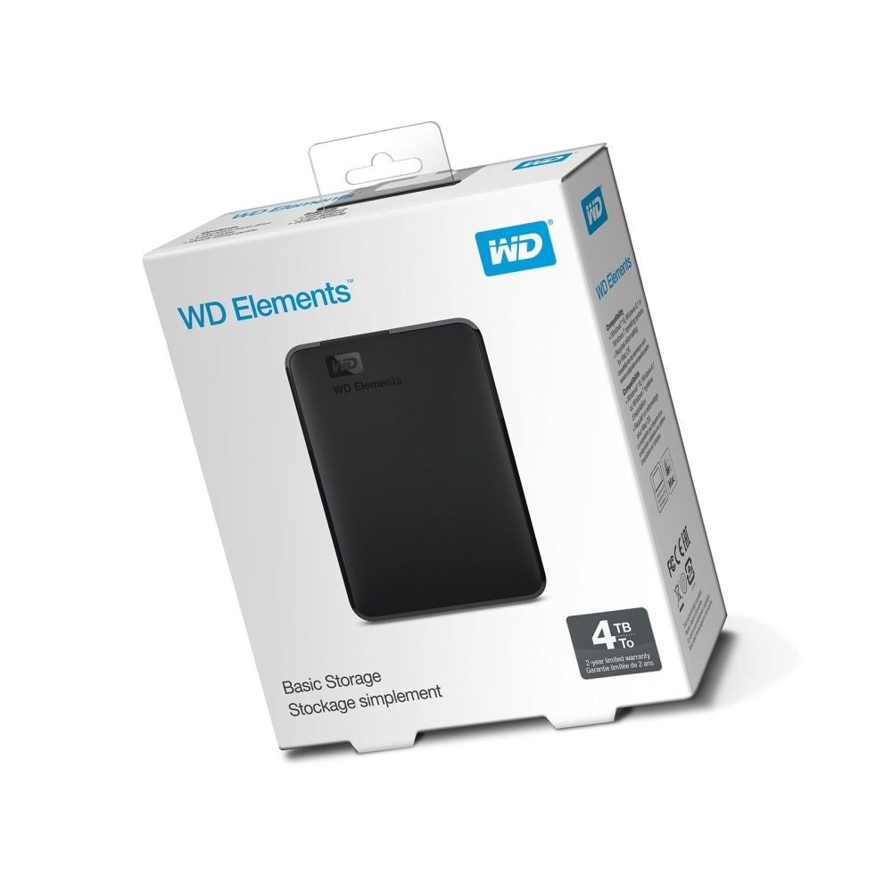 4tb Wd Elements External Hard Drive Usb 30 Latest Original Brandnew Harddisk Eksternal 2tb Seal In Box Premium Seller 1