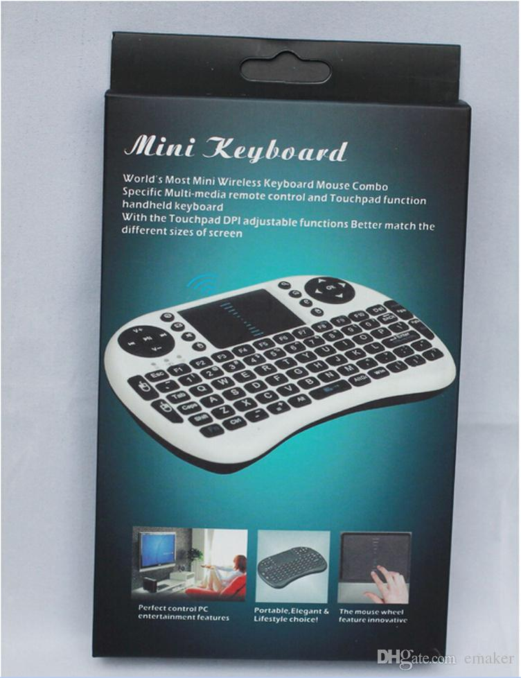 Mini keyboard With Mouse pad For TVs Mobile Phones Etc