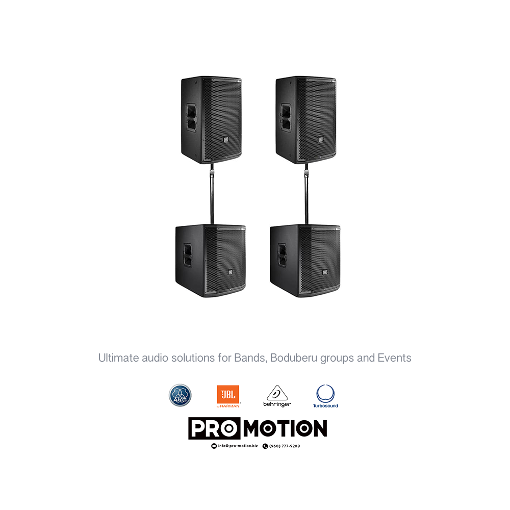 Ultimate Audio Solutions for Bands, Boduberu Groups and
